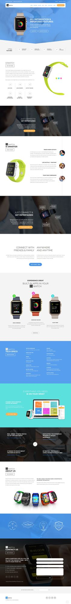 Ex Watch is a Modern & Responsive #Shopify Template for a single #product showcase or multiple products #eCommerce website download now➯ https://themeforest.net/item/ex-watch-single-product-ecommerce-shopify-theme/17260709?ref=Datasata