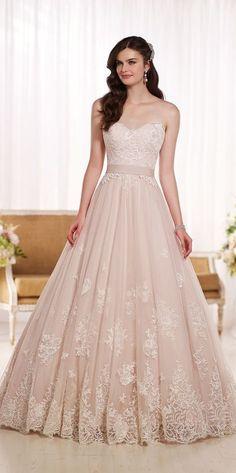Blush princess gown