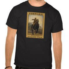 FORWARD! Enlist Now Tshirt