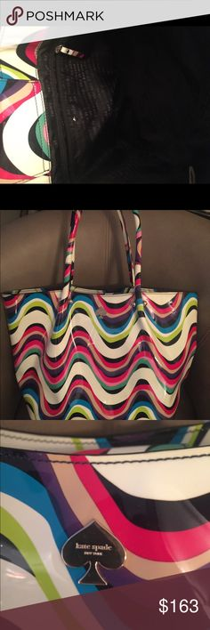 TODAY ONLY!!!!!!♠️Kate Spade authentic large bag♠️ Colorful!! kate spade Bags Shoulder Bags