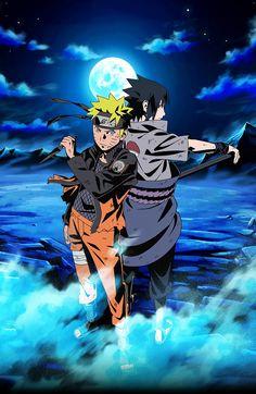Naruto and Sasuke by AiKawaiiChan on DeviantArt