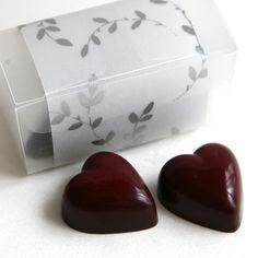 Handmade Chocolate hearts