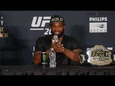 Tyron Woodley seizes moment to prove he is the best welterweight in the world. - Full Interview