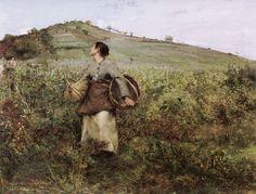 At Harvest Time, Jules Bastien-Lepage