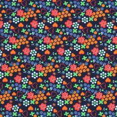 Jersey Littlemix 1 - Katoen - Elasthaan - oranje