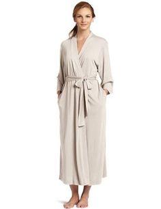 54cb87d0f1 Natori Shangri La Robe Modal Jersey Cashemere Color Bath Robe XS New   fashion  clothing