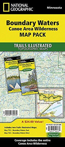 12 Best Boundary Waters Canoe Area Wilderness Canoe Routes images ...