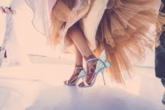 Even the bride's shoes fit with the fairy-tale wedding. Even the bride's shoes fit the fairy tale wedding. Designer Wedding Shoes, Bridal Heels, Bride Shoes, Wedding Trends, Wedding Ideas, Bridal Style, Wedding Accessories, Pretty, Bridal Footwear