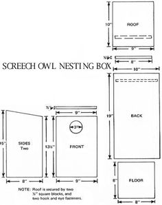 Gilbertson Bird House Plans besides 59828 additionally Nestbox Tutorial Selecting Box further Shelter Cottage House Plans together with Diy Bluebird House Plans Predator Guard Wooden Pdf Diy Bench Plans Storage. on peterson bluebird house plans design