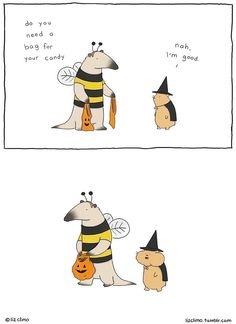 50+ Funny Halloween Comics To Celebrate This Day With Laughter