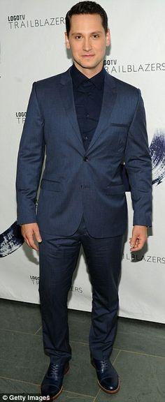 Orange is the New Black's Matt McGorry at the LOGO TV Trailblazers taping http://dailym.ai/1v1y9w4