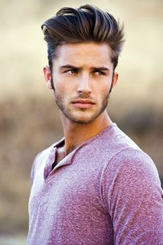 Handsome Guys Hair Trend 2014. More inspiration at Bed and Breakfast Valencia Mindfulness Retreat Spain: http://www.valenciamindfulnessretreat.org