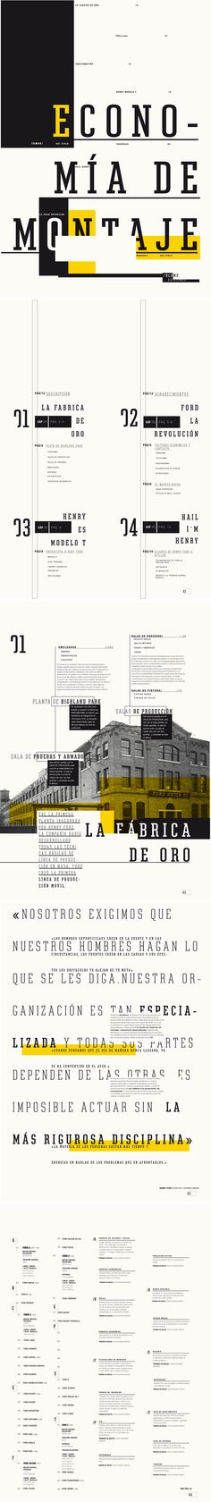 Editorial - Economia by M. Belen Garcia, via Behance