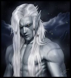 dark male elf - Google Search