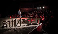 Aaron Chase @ TEDxNitra 2013 Basketball Court, Wrestling, Sports, Lucha Libre, Hs Sports, Sport
