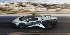 The Lamborghini Forsennato Would Be A Proper Raging Bull. New Sports Cars, Exotic Sports Cars, Sport Cars, Exotic Cars, Race Cars, Ferrari 458, Maserati, Mexico 2018, Car Racer