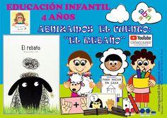 """EL BLOG DE MARÍA DEL MAR QUÍRELL: """"UN MAR DE IDEAS PARA LA EDUCACIÓN INFANTIL"""": """"MATEMÁTICAS ABN 4"""". ABNIZAMOS EL CUENTO: """"EL REBA... Peanuts Comics, Blog, Home, Math Games, Nursery Rhymes, Note Cards, Blogging"""