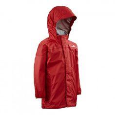 Raindance Kids' Waterproof Jacket v3 - Red Kids Hiking Backpack, Kids Waterproof Jacket, Hiking With Kids, Rain Wear, Rain Jacket, Windbreaker, Raincoat, Red, Jackets