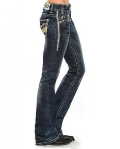 Rock & Roll Cowgirl® Ladies' Lowrise Bootcut Jeans