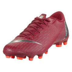 Nike Mercurial Vapor XII Academy MG Multi Ground Soccer Shoe Team  Red Metallic Dark Grey 29353e2142