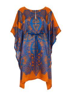 Silk Caftan 02/2013 #123 – Sewing Patterns | BurdaStyle.com