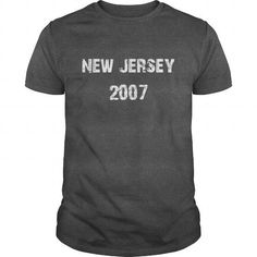 New Jersey 2007 Birth TShirt #2007 #tshirts #birthday #gift #ideas #Popular #Everything #Videos #Shop #Animals #pets #Architecture #Art #Cars #motorcycles #Celebrities #DIY #crafts #Design #Education #Entertainment #Food #drink #Gardening #Geek #Hair #beauty #Health #fitness #History #Holidays #events #Home decor #Humor #Illustrations #posters #Kids #parenting #Men #Outdoors #Photography #Products #Quotes #Science #nature #Sports #Tattoos #Technology #Travel #Weddings #Women