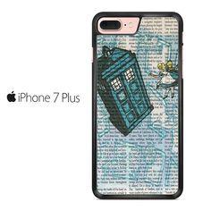 Alice In Wonderland, Tardis Doctor Who Iphone 7 Plus Case