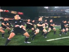 The haka - before the 2011 World Cup Final. Cue spine tingles.
