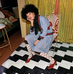 Gucci Pre-Fall 2017 ad campaign, which features only black models, was photographed by Glen Luchford and styled by Alessandro Michele and reference the Gucci Models, Catwalk Models, Gucci Pre Fall 2017, Gucci 2017, Gucci Gucci, Fashion Brands, High Fashion, Gucci Fashion, Fashion Tape