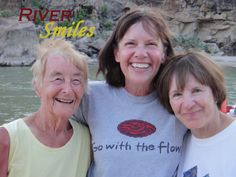 River Smiles of all ages!