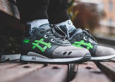new styles e025d 29a8c Buy ronnie fieg x asics gel lyte iii super green > Up to ...
