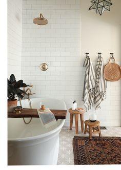 Bayview Scheunenhaus - home & interior inspiration - Paper Craft Bad Inspiration, Bathroom Inspiration, Home Decor Inspiration, Decor Ideas, Bathroom Ideas, Bathroom Designs, Bathroom Crafts, Bathroom Plans, Home Interior