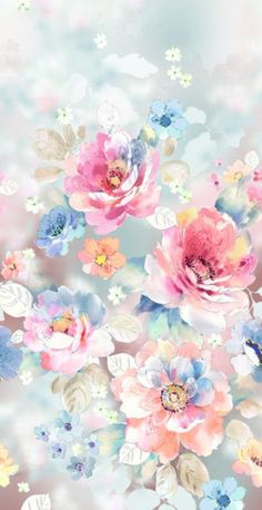 marys lieblinge Ohne Titel - Nike Air Force One (the shoe) Article Body: The Air Force Flowery Wallpaper, Flower Phone Wallpaper, Watercolor Wallpaper, Pattern Wallpaper, Watercolor Flowers, Iphone Wallpaper, Tumblr Backgrounds, Cute Wallpaper Backgrounds, Pretty Wallpapers