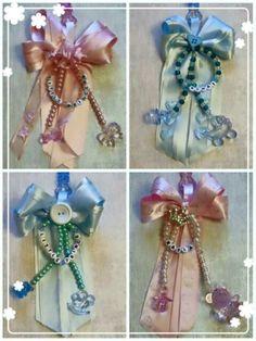 Variety of pram charms