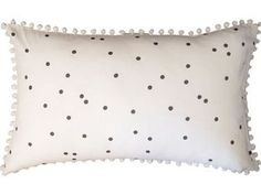 Confetti in Charcoal print pillow case (1)
