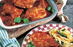 Pork Chops Marinara - This was one of Grandpa's favorite weeknight meals. Grandma liked it too because it was so easy.