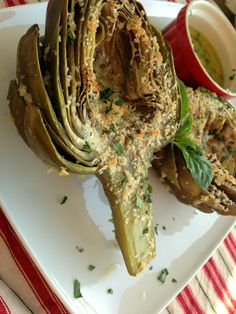 Roasted Artichokes | Dash of Savory