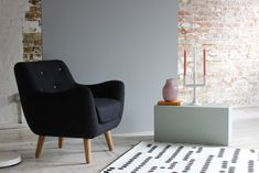 Fast Delivery Sofas The Sofa To Collection Sixties Style Pairs Perfectly With Ultra Modern Black Wool Create A Contrast In Pastel
