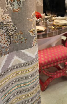 Heirloom India fabric by Echo Design and Kravet