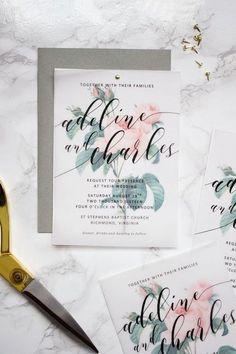 37 Cute Spring Wedding Stationary Ideas | HappyWedd.com