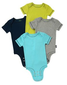 Disney Cuddly Bodysuit 4-Packs on Amazon in 5 different gender-neutral combinations- Works out to $2 per onesie! That's thrift store cheap ;)