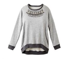 Luxe Sweatshirts for This Season: Give this go-anywhere BCBGMaxAzria version a try. $198; Saks.com #SelfMagazine