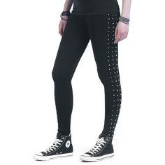 Urban Classics  Leggings  »Ladies Side Rivets Leggings« | Jetzt bei EMP kaufen | Mehr Basics  Leggings  online verfügbar ✓ Unschlagbar günstig!