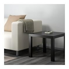 "IKEA - LACK, Side table, black, 22x22 "", , Easy to assemble.Lightweight and easy to move."