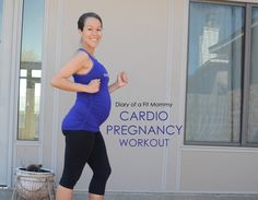 This workout is awesome for athletic #pregnant mamas who want to keep up their routines during #pregnancy!