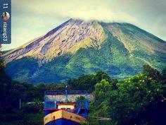 http://OkGranada.com #Follow @rizacg23: #Ometepe island #Volcano - #Granada #Nicaragua #ILoveGranada #AmoGranada #Travel #CentralAmerica #GranadaNicaragua