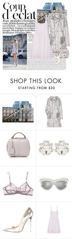 """""""Untitled #1810"""" by hellohanna ❤ liked on Polyvore featuring WALL, Bela, Marc Jacobs, Mark Cross, Dolce&Gabbana, Eberjey, Anna-Karin Karlsson, Jimmy Choo and DAY Birger et Mikkelsen"""
