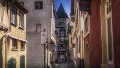 Kranenstrasse in Bacharach by Ole  Steffensen on 500px