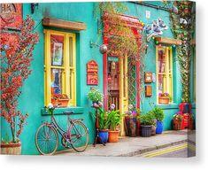 Mexican Colors, Pintura Exterior, West Cork, Canvas Art, Canvas Prints, Funky Home Decor, Dream House Interior, Exterior Paint, House Painting