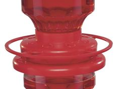 GIve hummingbirds twice as many places to feed with a  Double Stack Hummingbird Feeder . Each holds 16 ounces of nectar, for a total of 32. Twist them together to stack, or hang them separately. Angled feeding ports help prevent bees and wasps from entering.